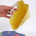 Sacchetti Carta Colorati giallo