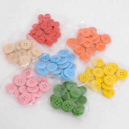 Bottoni di legno Colorati