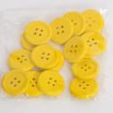 Bottoni di legno gialli