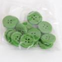 Bottoni di legno verdi