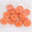Bottoni di legno arancio