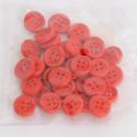 Bottoni di legno rossi