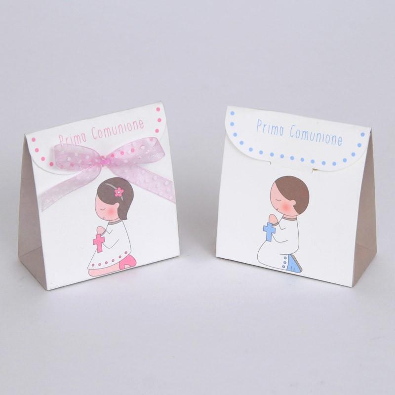 Scatoline porta-confetti in cartoncino stampato
