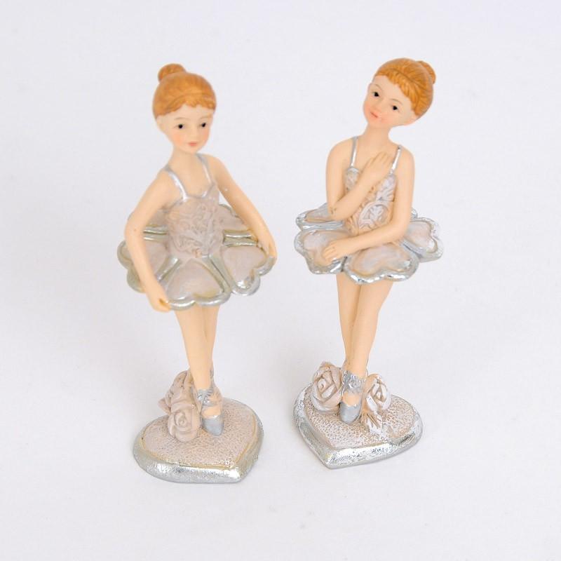 Ballerine ceramica in piedi