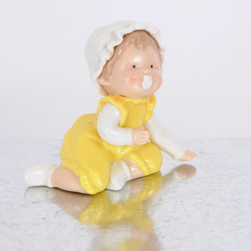 Bamba in porcellana con ciuccio