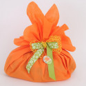 Foglio Tondo tessuto-non-tessuto arancio
