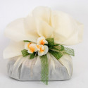 Foglio Tondo tessuto-non-tessuto crema