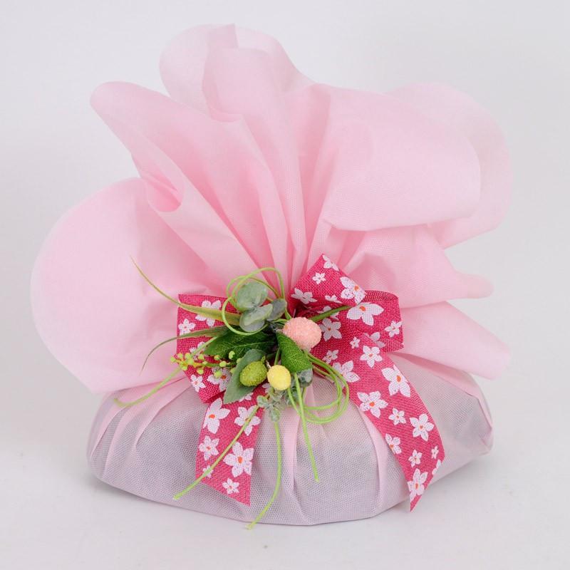 Foglio Tondo tessuto-non-tessuto rosa