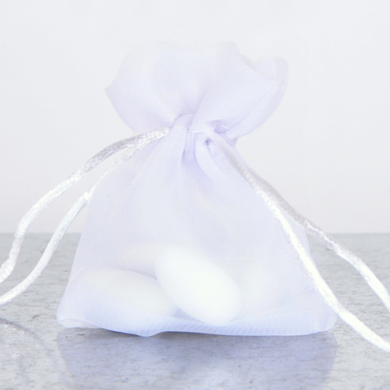 Sacchetti Bomboniere bianco