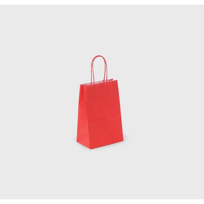 Shopper Carta Kraft Colorata