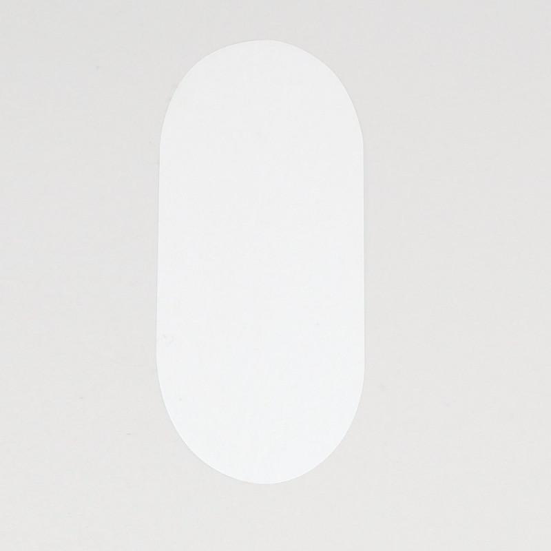 Etichette adesive Chiudi Pacco ovale