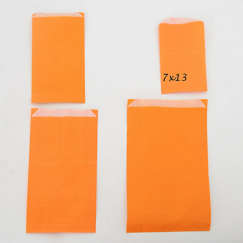 Sacchetti Carta Regalo arancio