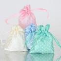 Sacchetto porta confetti in Raso Pois