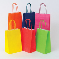 Shopper Carta Kraft Colorata