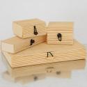 Bamboo Box con alamaro