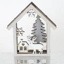 Casetta Paese Natale con LED