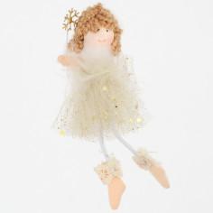 Fatina Frizzy con bacchetta cristallo oro