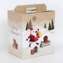 Scatole Pandoro e Bottiglia Santa Claus 305