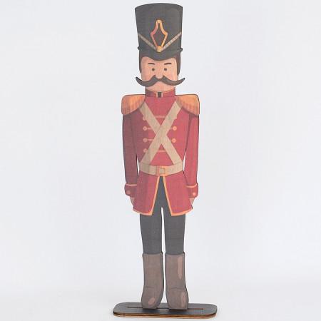 Soldatino Schiaccianoci balocco in legno