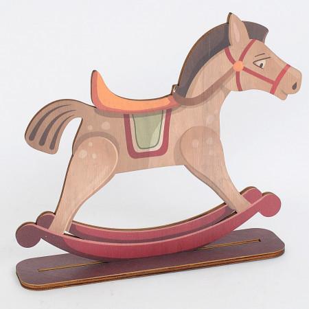 Cavalluccio balocco in legno