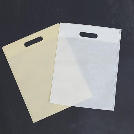 Borse in TNT Colorate con Maniglia Fagiolo in Confezione da 10pz 25x33
