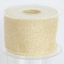 Nastro Fleg in tessuto brillantato oro