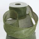 Nastro Fleg in tessuto brillantato verde