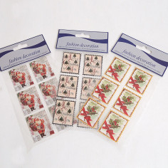 Francobolli Sticker di Natale
