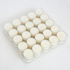 Confezione da 50 candele t-lights classiche