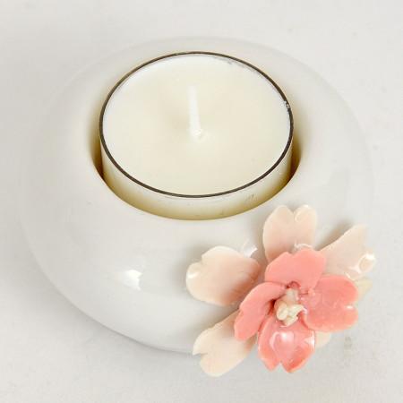 Porta candele t-lights in ceramica