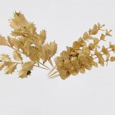 Agrifoglio e Eucalipto Dorati