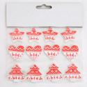 Stickers renne Natale assortiti