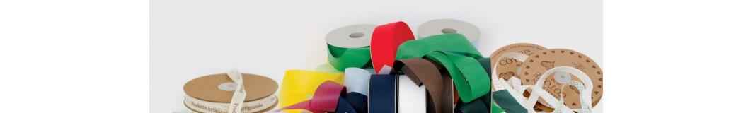 nastri in cotone e tnt tessuto non tessuto per confezioni da regalo
