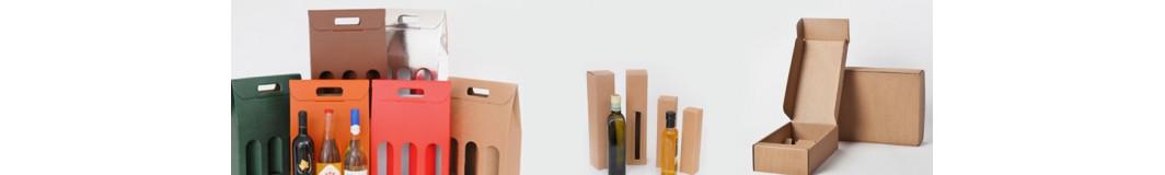 Scatole portabottiglie vino olio