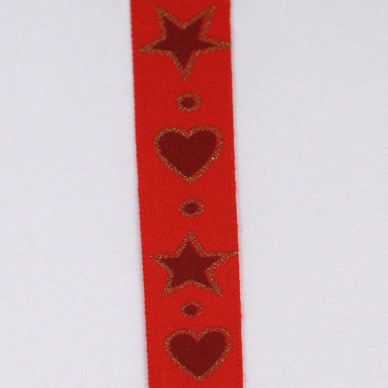 cuore/stella rosso