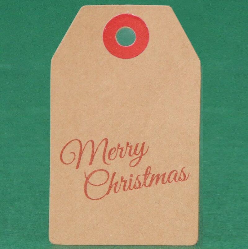 Merry Christmas 4,5x7,5 cm