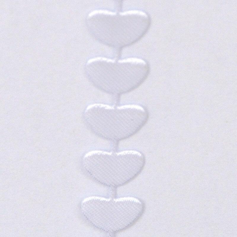 filo cuori bianco