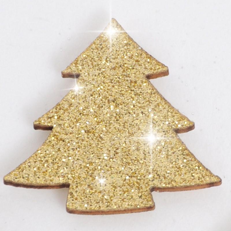 glitter pino oro