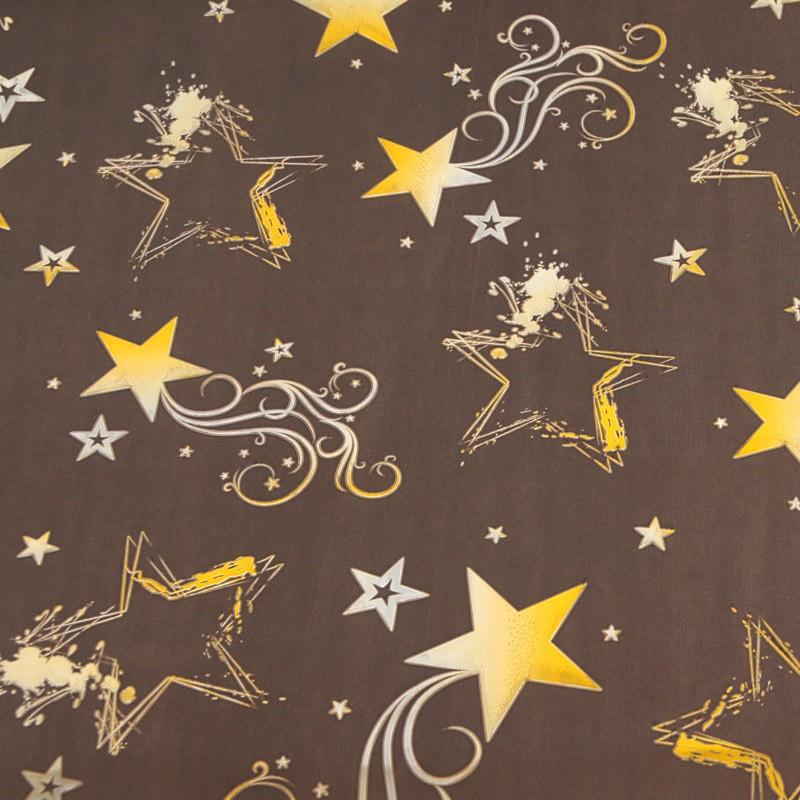marrone/stelle