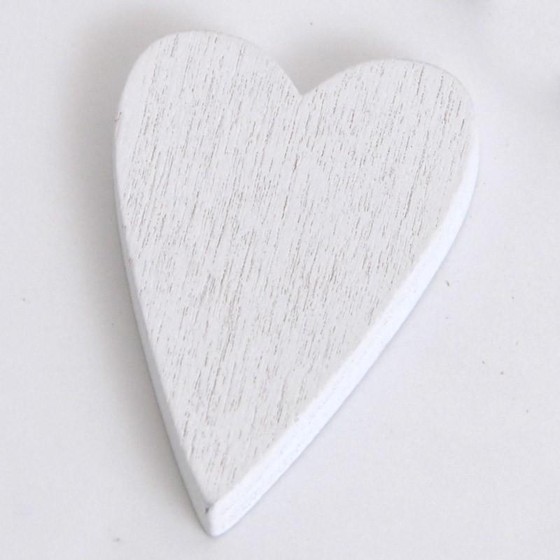 cuore bianco
