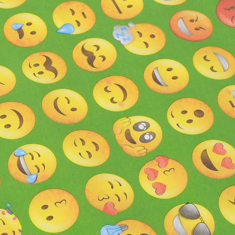 carta smile verde
