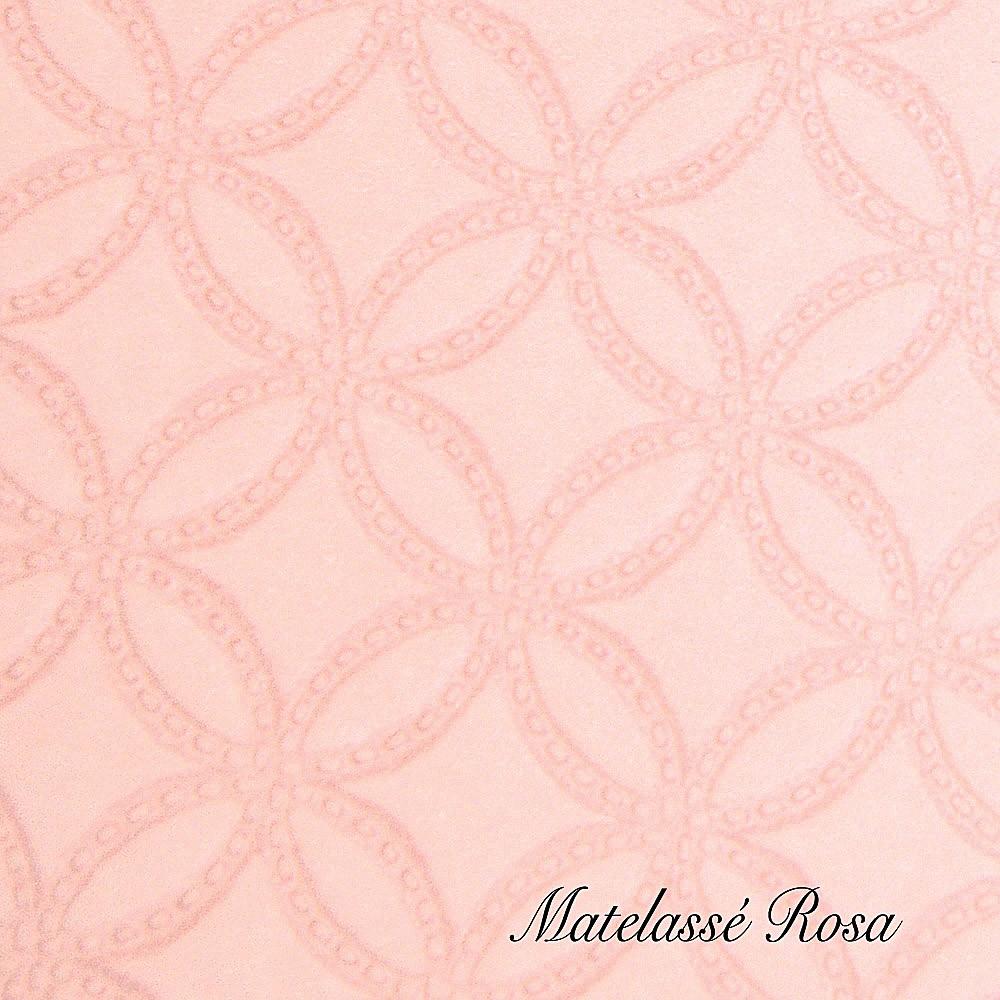 Matelassè Rosa